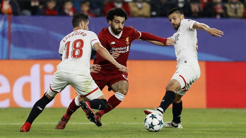 Empate épico del Sevilla vs Liverpool que deja a ambos con los ...