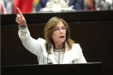 13112019-CIUDAD DE MÉXICO, 15DICIEMBRE2017.- Norma Rocío Nahle García, coordinadora de MORENA en la Cámara de Diputados durante la sesión ordinaria en el recinto legislativo de San Lazaro. FOTO: CUARTOSCURO.COM