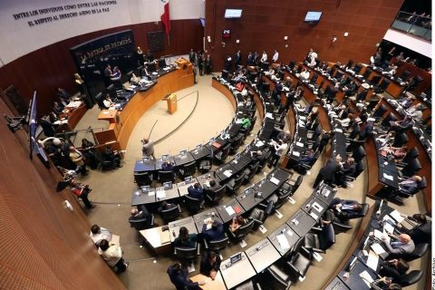 Ciudad de México, 3 de marzo de 2020. La Comisión Política del PAN ordenó a su bancada en el Senado de la República votar en contra de la regulación de la cannabis.