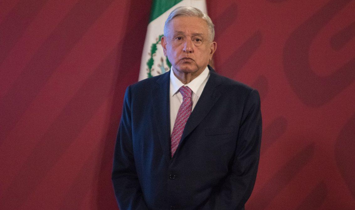 CIUDAD DE MÉXICO. 29JUNIO2020.- El Presidente Andrés Manuel López Obrador, en la tradicional conferencia de las mañanas, estuvo acimpañado del titular de Profeco, Ricardo Sheffield, este día en el salón Tesorería de Palacio Nacional. FOTO: VICTORIA VALTIERRA/CUARTOSCURO.COM