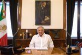 CIUDAD DE MÉXICO, 28JUNIO2020.- Andrés Manuel López Obrador, Presidente de México, ofreció su mensaje dominical a través de sus redes sociales en el cual mencionó el próximo miércoles se cumplen dos años del triunfo democrático de su gobierno. FOTO: PRESIDENCIA/CUARTOSCURO.COM
