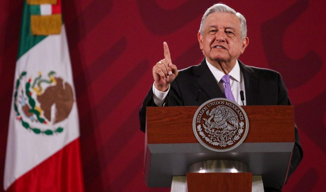 CIUDAD DE MÉXICO, 30JULIO2020.- Andrés Manuel López Obrador, presidente de México, durante la conferencia de prensa matutina donde anunció que el día de mañana se firmará un convenio con la Organización de las Nacionales Unidas (ONU) para garantizar el abasto de medicinas a todos los estados del país. De igual modo, anunció sobre la entrega de agua a Estados Unidos como parte del Tratado de Aguas. FOTO: GALO CAÑAS /CUARTOSCURO.COM