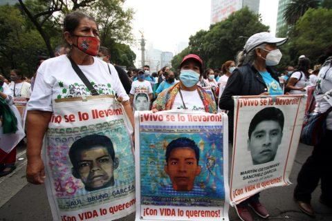 16/11/2020 Protesta por la desaparición de los 43 'normalistas' de Ayotzinapa, México. POLITICA CENTROAMÉRICA LATINOAMÉRICA MÉXICO INTERNACIONAL EL UNIVERSAL / ZUMA PRESS / CONTACTOPHOTO