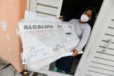 En la Ciudad de México se comenzaron a recibir los paquetes para las elecciones del domingo. Foto: Cuartoscuro