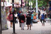 Chilpancingo Gro, 30 de julio 2021. // Pese al incremento de casos por Covid, habitantes de esta ciudad capital continúan con la movilidad en las calles de esta ciudad sin guardar las medidas sanitarias para evitar contagios de este virus. // Foto: Jesús Eduardo Guerrero