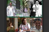Atoyac, Gro. 30agosto2018. / La Vicepresidenta de la Afadem Tita Radilla en la placa del Perdón del Zócalo de Atoyac donde montaron una exposición de fotografías de desaparecidos para conmemorar el Día Internacional del Detenido-Desaparecido de los cuales cuenta con 500 el Municipio de Atoyac. Chilpancingo,Gro/13enero02/ El dirigente de la OCSS, Hilario Mesino. Chilpancingo Gro, 13 de septiembre 2018. // La defensora de los derechos de las mujeres María Luisa Garfias Marín, muestra la presea Sentimientos de la Nación la cual le fuere otorgada por el Congreso del Estado. // La vicepresidenta de la Afadem Tita Radilla en el Zócalo de Atoyac; el dirigente de la OCSS, Hilario Mesino; la defensora de los derechos de las mujeres María Luisa Garfias Marí; la dirigente indígena na'savi de Tlacoachistlahuaca, Hermelinda Tiburcio y el promotor de la Policía Comunitaria de El Fortín en Tixtla Gonzalo Molina t Fotos: Francisco Magaña, Archivo de El Sur y Jesús Eduardo Guerrero